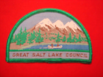 Great Salt Lake woven - circa 1960