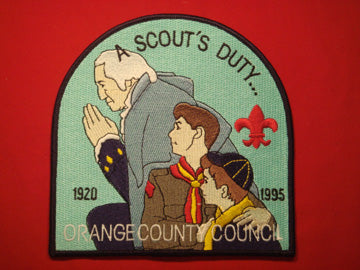 Orange County 1920-1995, jacket patch