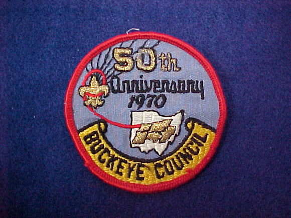 Buckeye Council 50th Anniversary 1970