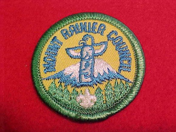 Mount Rainier Council, 2 round