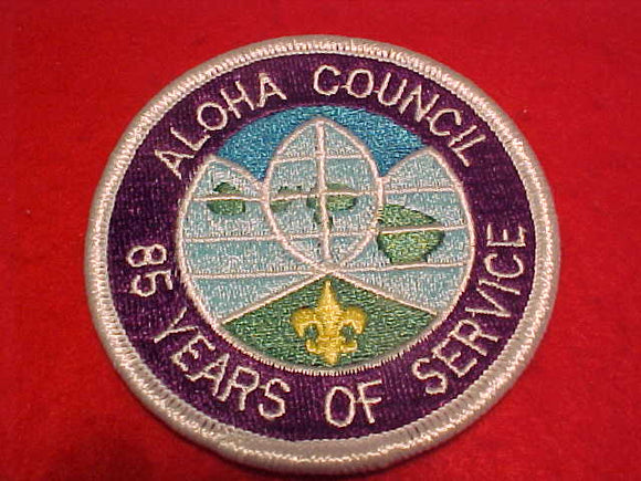 Aloha C., 85 years of service, (1914-1999)