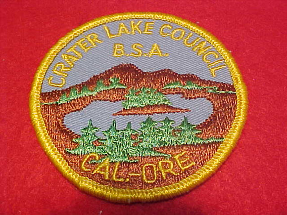 Crater Lake C., Cal.-Ore, with BSA, cloth back