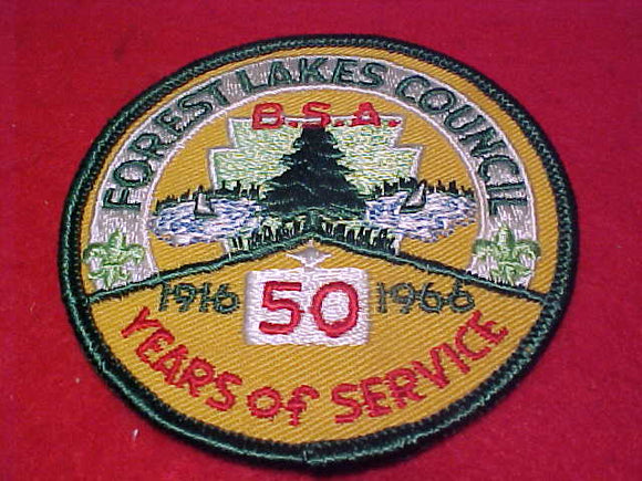 Forest Lakes C., 50 years of service, 1916-1966