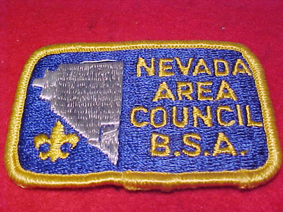 Nevada Area Council, silver state