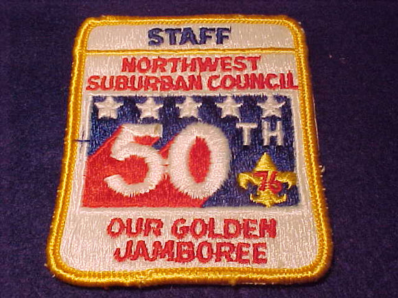 Northwest Suburban C., staff, 1976, Our Golden Jamboree