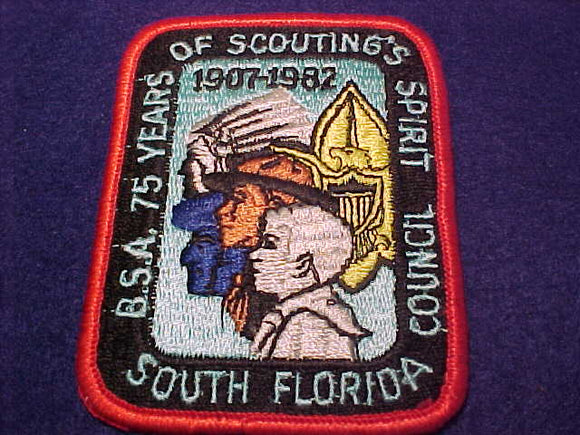 South Florida C., 75 years of Scouting's Spirit, 1907-1982