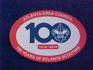 ATLANTA AREA COUNCIL MAGNET, 1916-2016