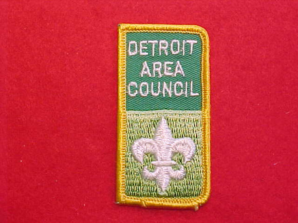 DETROIT AREA COUNCIL CP