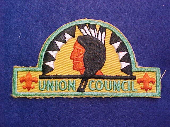 Union Council, hat shape