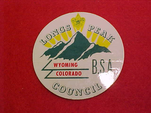 LONGS PEAK COUNCIL, 3