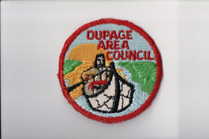 Dupage Area Council, cut edge, no fdl, used