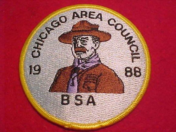 CHICAGO AREA COUNCIL PATCH, 1988