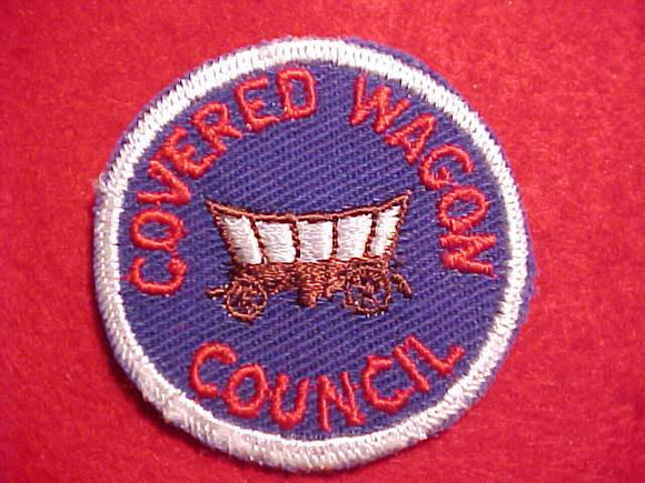 COVERED WAGON COUNCIL PATCH, 2
