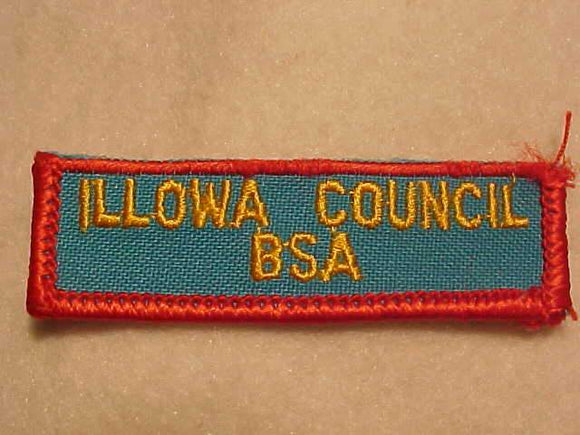 ILLOWA COUNCIL PATCH