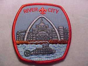 ST. LOUIS COUNCIL PATCH, RIVER CITY