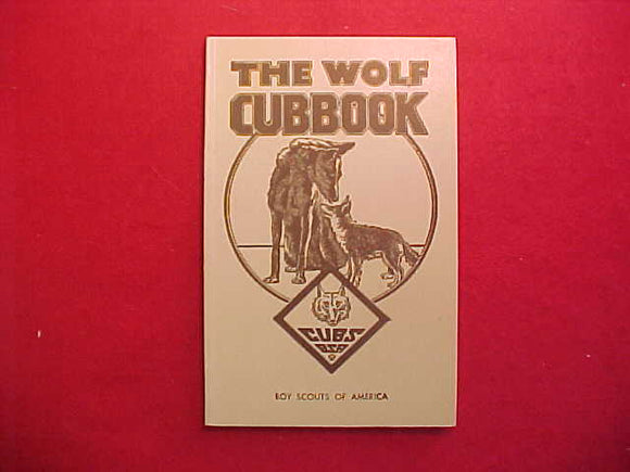 WOLF RANK 3/1946 PRINTING,MINT CONDITION