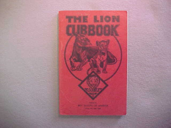 LION RANK 2/1941 PRINTING,RED COVER