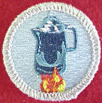 coffee drinking spoof merit badge