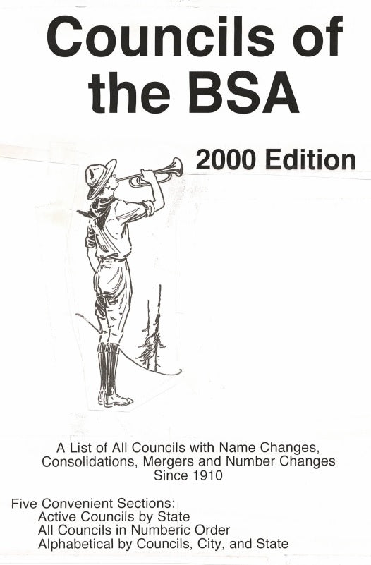 Councils of the BSA, 2000 Edition - FREE DOWNLOAD!