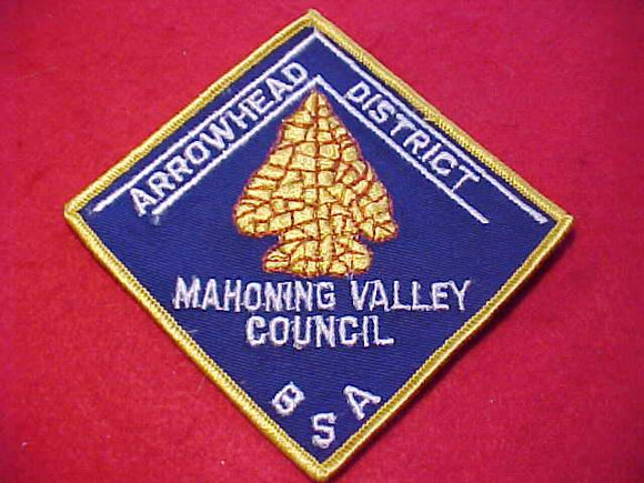 ARROWHEAD DISTRICT, MAHONING VALLEY C.