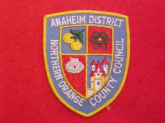 ANAHEIM DISTRICT, NORTHERN ORANGE COUNTY COUNCIL