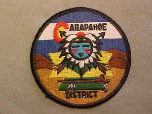 ARAPAHOE DISTRICT, PLASTIC BACK