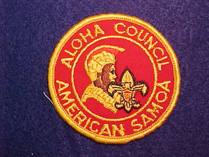 AMERICAN SAMOA DISTRICT, ALOHA COUNCIL