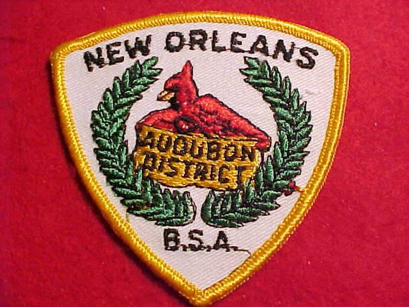 AUDUBON DISTRICT, NEW ORLEANS AREA C.