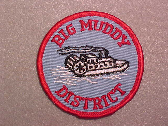 BIG MUDDY DISTRICT, DARK RED