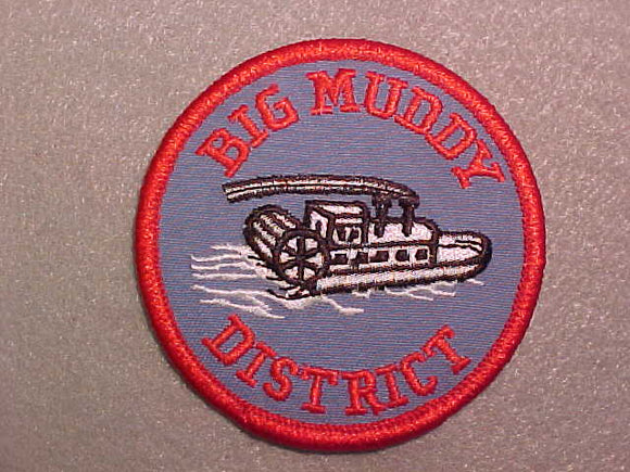 BIG MUDDY DISTRICT, LIGHT RED