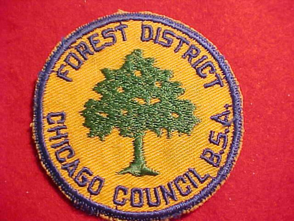 FOREST DISTRICT, 1950'S, CHICAGO C., USED