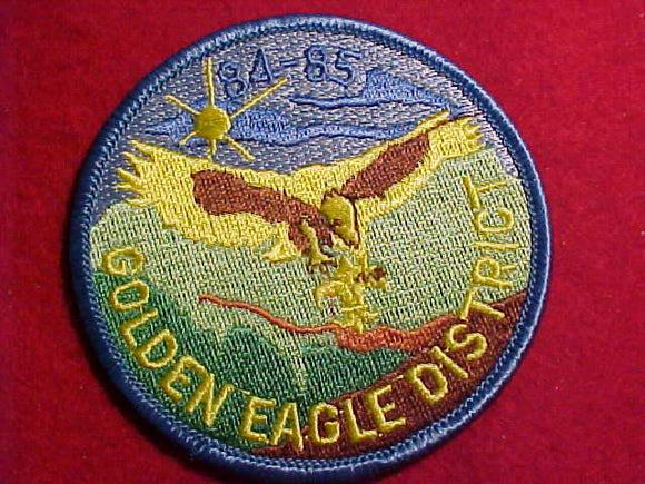 GOLDEN EAGLE DISTRICT, 1984-85