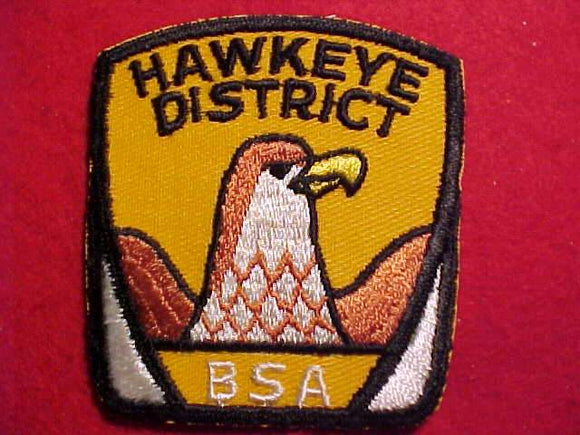 HAWKEYE DISTRICT