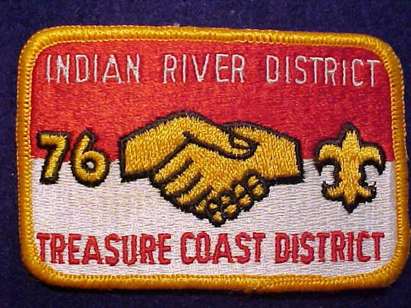 INDIAN RIVER DISTRICT / TREASURE COAST DISTRICT, 1976