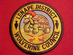 LENAPE DISTRICT, WOLVERINE C