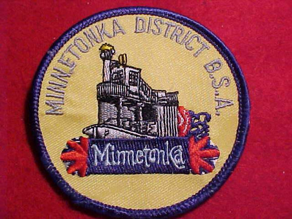 MINNETONKA DISTRICT