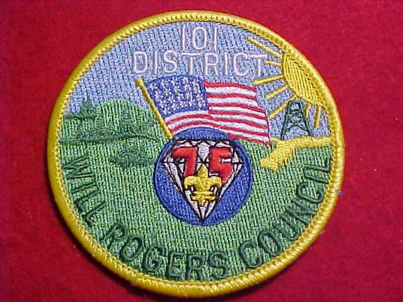 ONE HUNDRED ONE DISTRICT, 1985, WILL ROGERS C.