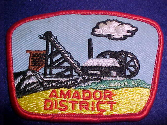 AMADOR DISTRICT, SLIGHT USE