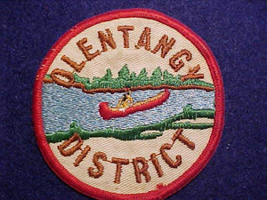 "OLENTANGY DISTRICT, 3"" ROUND"