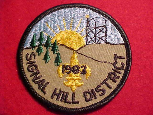 SIGNAL HILL DISTRICT, 1983