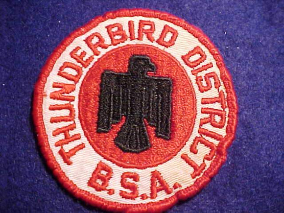 THUNDERBIRD DISTRICT, USED