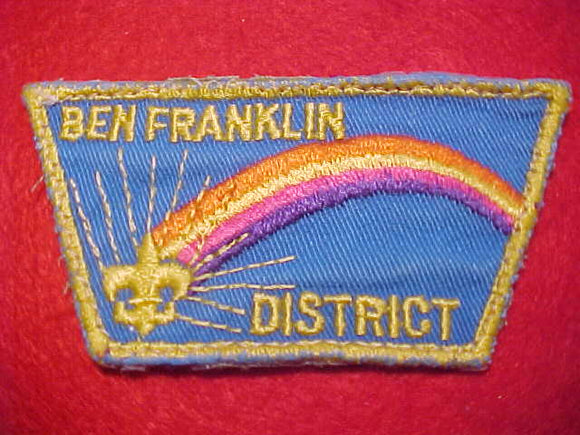 BEN FRANKLIN DISTRICT, USED