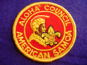 AMERICAN SAMOA DISTRICT, ALOHA C., CB