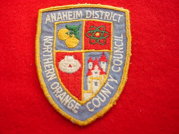 ANAHEIM DISTRICT, NORHTERN ORANGE COUNTY C., USED