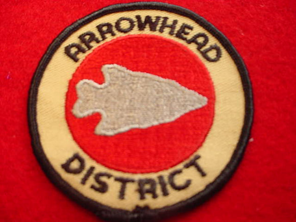 ARROWHEAD DISTRICT