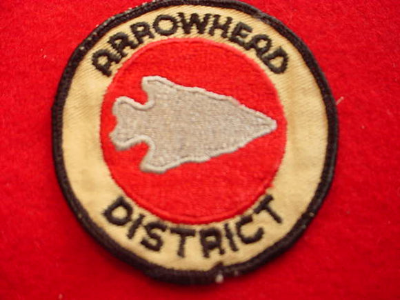 ARROWHEAD DISTRICT, USED