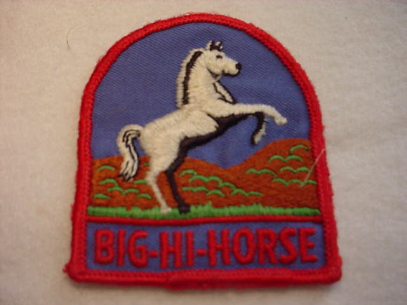 BIG-HI-HORSE, USED