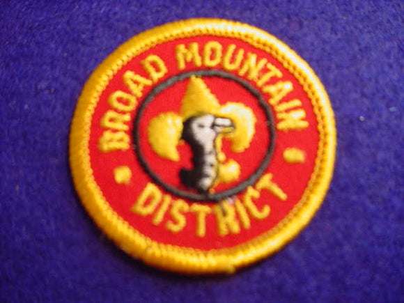 BROAD MOUNTAIN DISTRICT