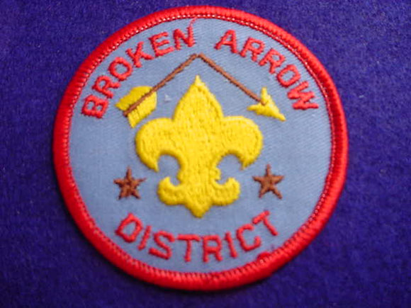 BROKEN ARROW DISTRICT