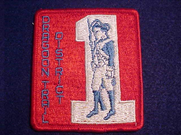 DRAGOON TRAIL DISTRICT PATCH